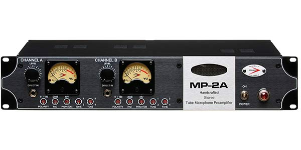 stereo tube microphone preamplifier and d i  with all discrete circuitry,  point-to-point wiring, as well as input and output transformers